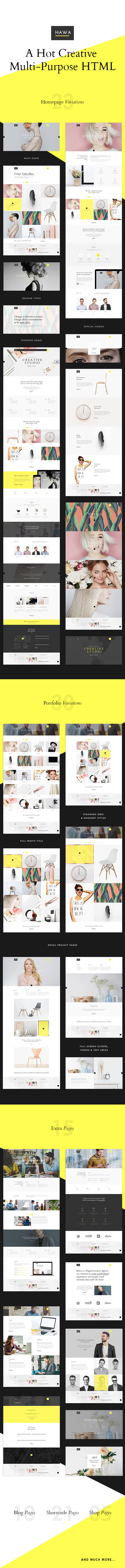 Hawa - A Hot Creative Multi-Purpose Template - 7
