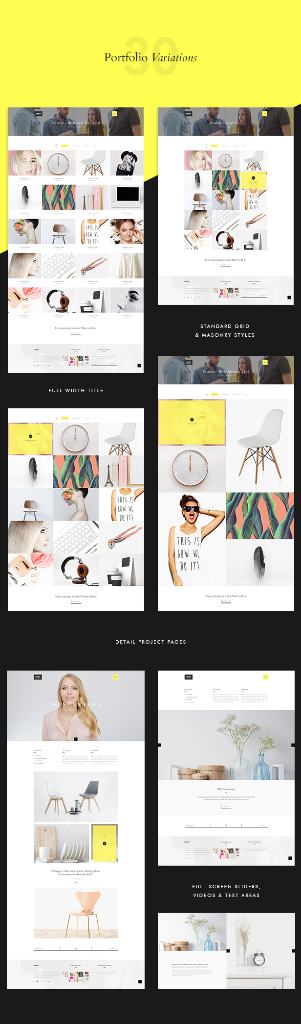 Hawa - A Hot Creative Multi-Purpose PSD