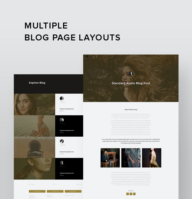 MiAgency- Minimalistic Portfolio WordPress Theme